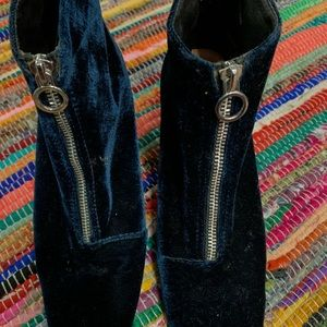 Blue Suede Shoes, Boots.